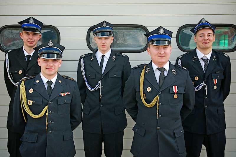 Strażacy zOrzeszkowa