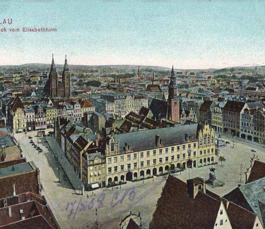 Wrocław. Rynek w 1908 roku