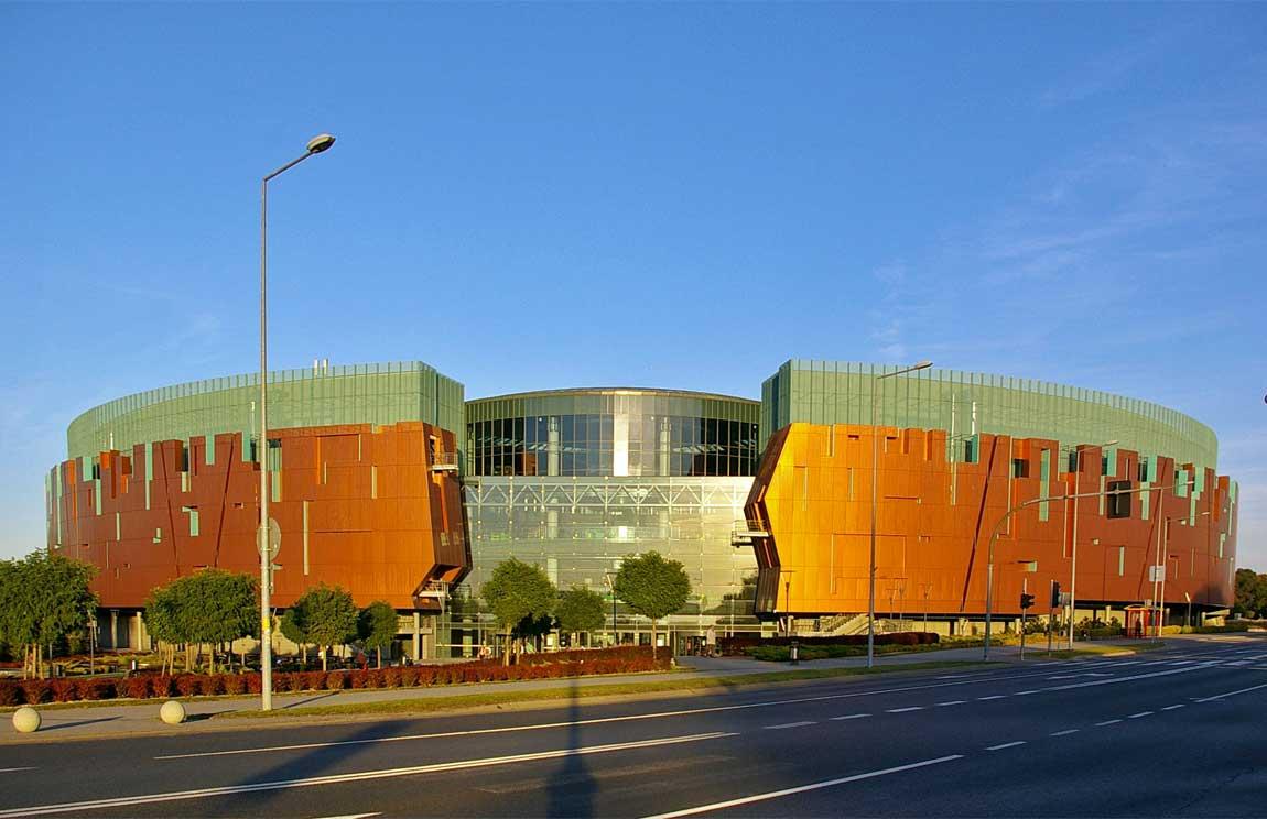 Galeria Cuprum Arena wLubinie (fot.Jacek Parafinowicz)