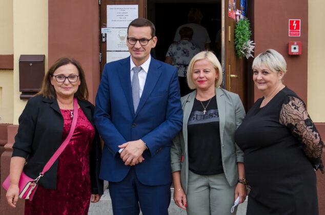 Premier Mateusz Morawiecki w Wińsku